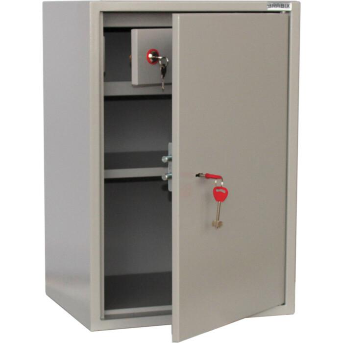 Шкаф металлический для документов Brabix KBS-011T трейзер, сварной 291152 стеллаж miolla kbs 12