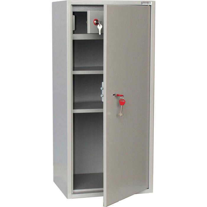 Шкаф металлический для документов Brabix KBS-041T трейзер, сварной 291153 стеллаж miolla kbs 12