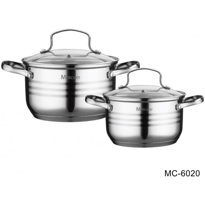Набор посуды Mercury 6 предметов (MC-6020)