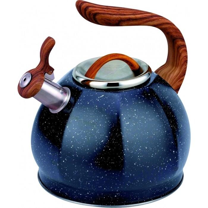 Чайник со свистком Teco 3.0 л (TC-122-B) чайник заварочный teco 1 0 л tc 211