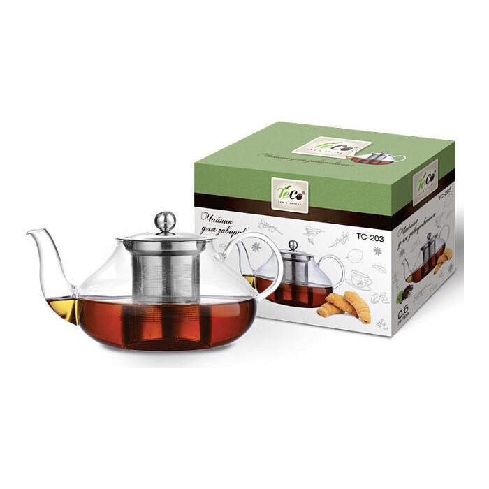Чайник заварочный Teco 0.8 л (TC-203) чайник заварочный teco 1 0 л tc 211