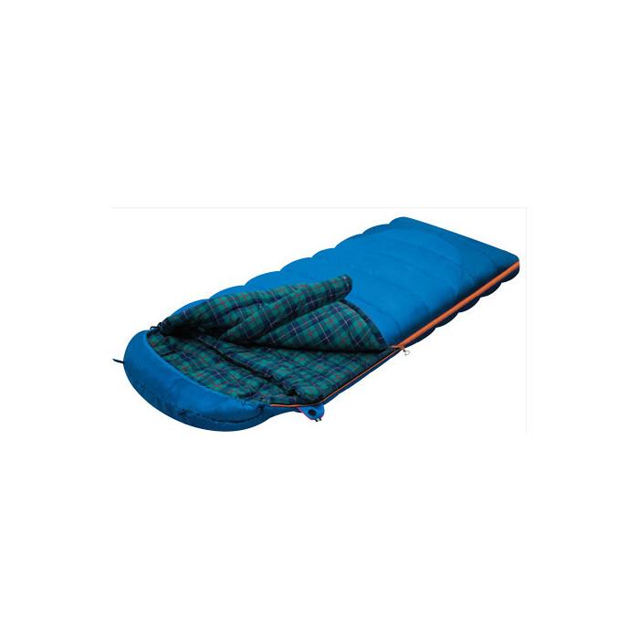 Мешок спальный Alexika TUNDRA Plus синий, левый