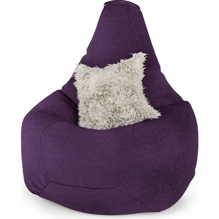 Фото - Шарм-Дизайн Кресло-груша рогожка фиолетовый кресло либерти рогожка
