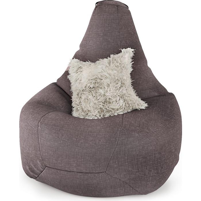 Фото - Шарм-Дизайн Кресло-груша рогожка латте кресло либерти рогожка