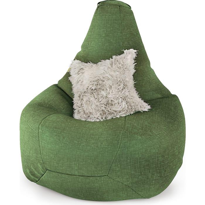 Фото - Шарм-Дизайн Кресло-груша рогожка зеленый кресло либерти рогожка