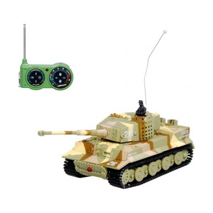 Радиоуправляемый танк Great Wall Toys German Tiger I масштаб 1:72 27Mhz - 2117-1