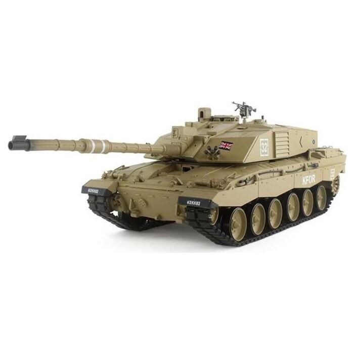 Радиоуправляемый танк Heng Long British Challenger 2 2.4GHz масштаб 1:16 - 3908-1 V5.3