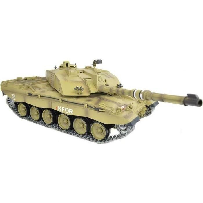 Радиоуправляемый танк Heng Long British Challenger 2 PRO 2.4GHz масштаб 1:16 - HL3908-1PRO V5.3