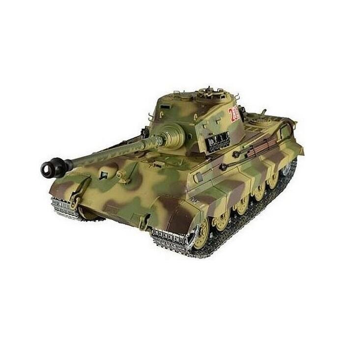 Радиоуправляемый танк Heng Long King Tiger (башня Henschel) Professional V6.0 масштаб 1:16 2.4G - HL3888A-1P6.0