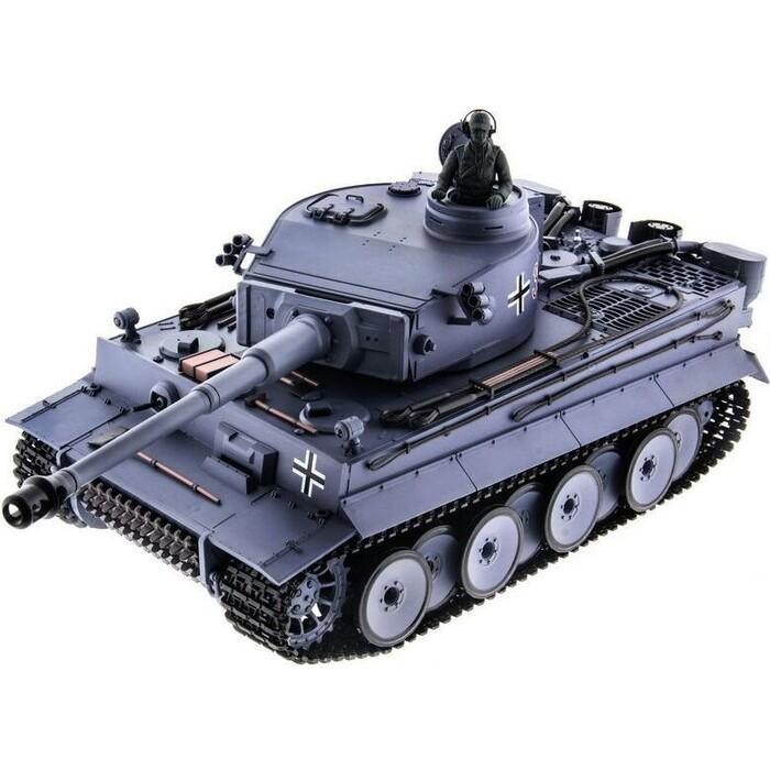 Радиоуправляемый танк Heng Long Tiger I Upgrade V6.0 масштаб 1:16 2.4G - HL3818-1U6.0