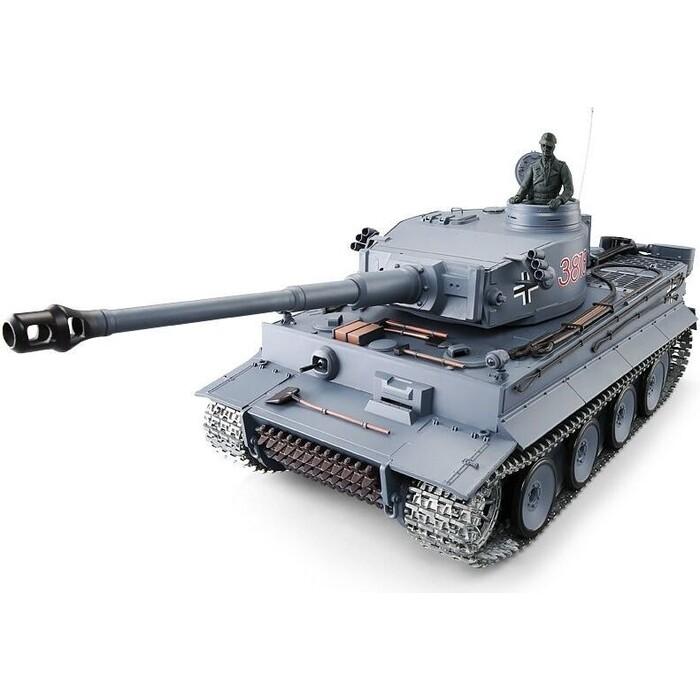 Радиоуправляемый танк Heng Long Tiger I UpgradeA V6.0 масштаб 1:16 2.4G - HL3818-1UA6.0