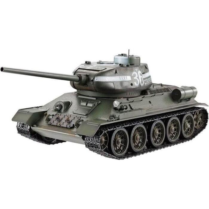 Радиоуправляемый танк Heng Long T-34 85 Original V6.0 масштаб 1:16 2.4G - HL3909-1O6.0