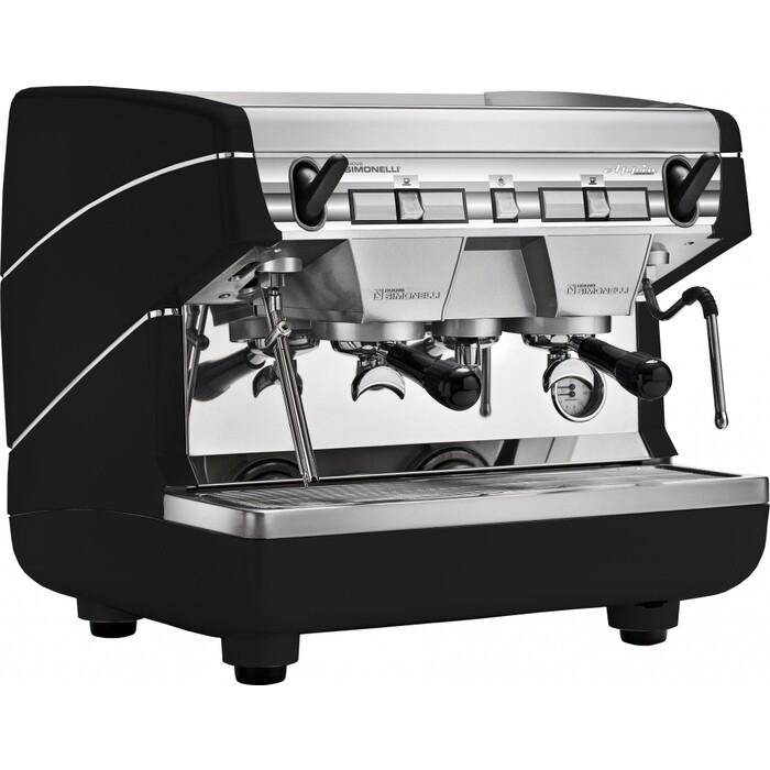 Кофемашина профессиональная Nuova Simonelli Appia II Compact 2Gr S Black полуавтомат, высокие группы