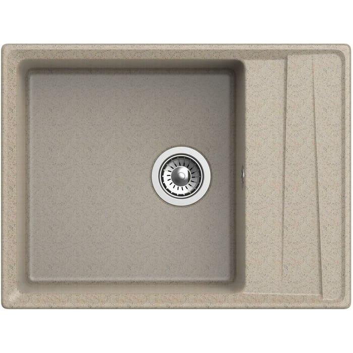 Кухонная мойка GranFest Level GF-LV-660L песочная