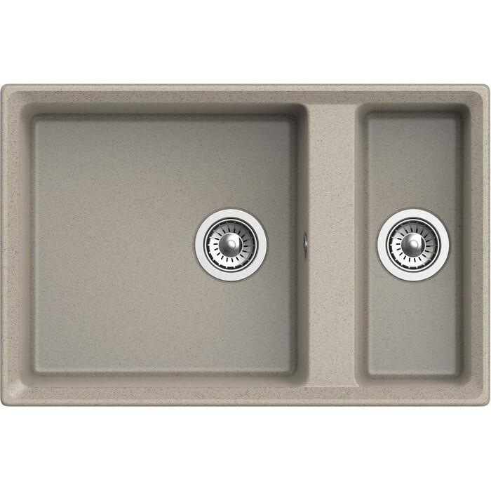 Кухонная мойка GranFest Level GF-LV-760K песочная