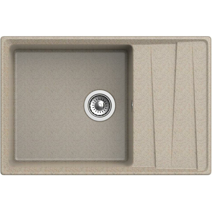 Кухонная мойка GranFest Level GF-LV-760L песочная