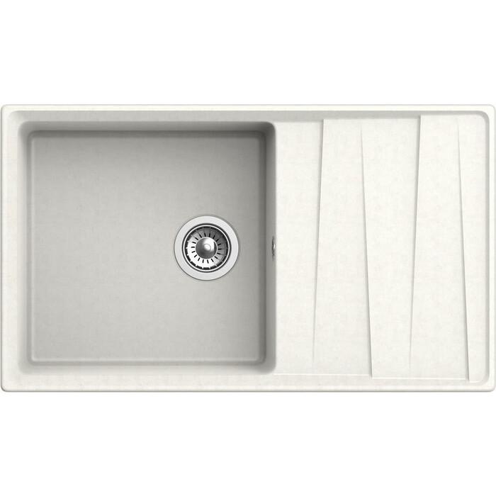 Кухонная мойка GranFest Level GF-LV-860L белая