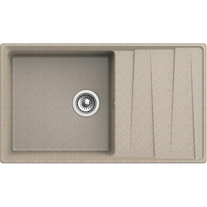 Кухонная мойка GranFest Level GF-LV-860L песочная