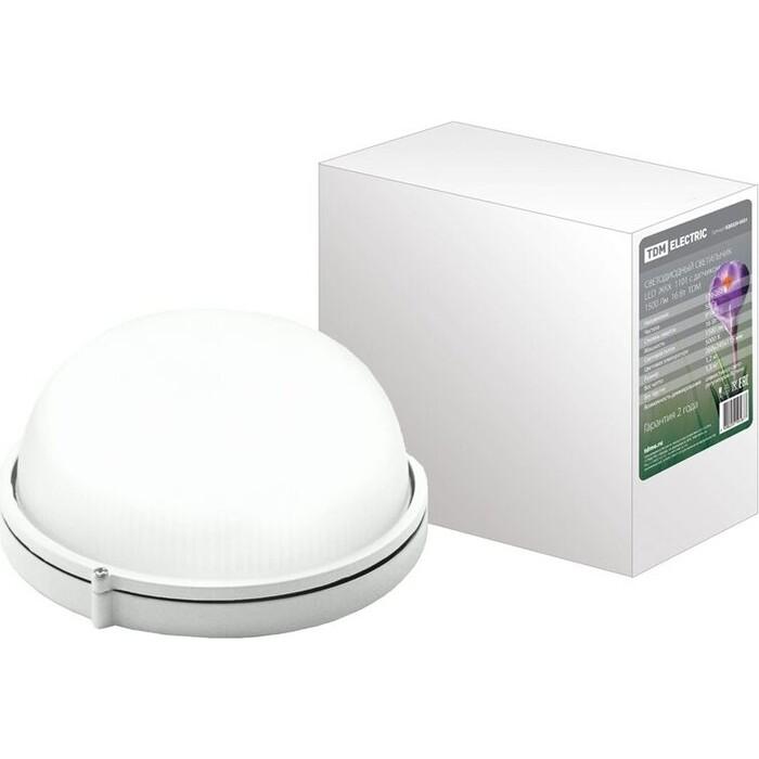 Светильник TDM ELECTRIC Светодиодный LED ЖКХ 1101 с датчиком 1500 Лм 16 Вт IP54 светильник светодиодный аргос трейд дбп жкх эконом 7983793