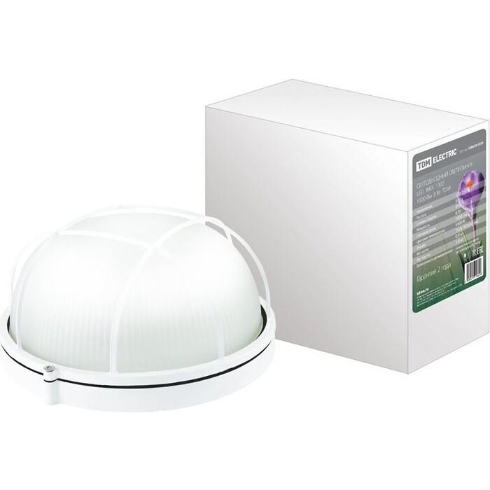 Светильник TDM ELECTRIC Светодиодный LED ЖКХ 1302 1000 Лм 8 Вт IP54 светильник светодиодный аргос трейд дбп жкх эконом 7983793