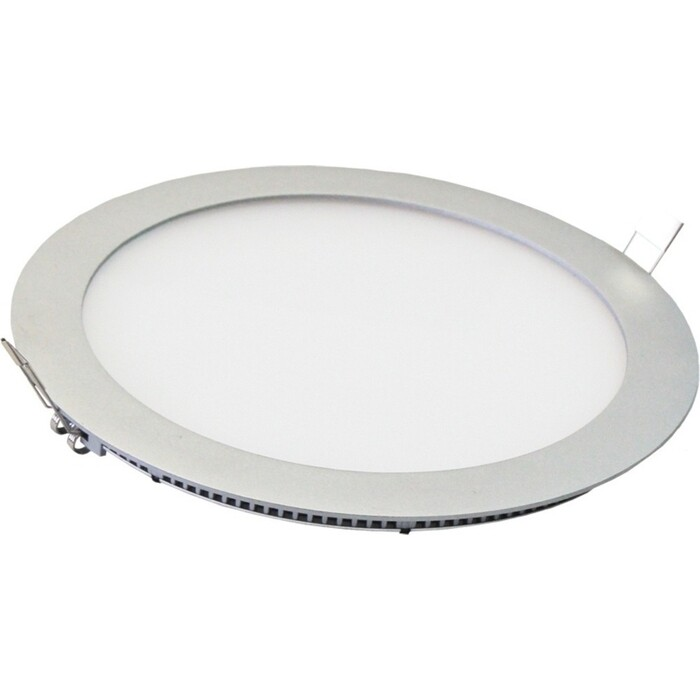 Светильник TDM ELECTRIC ультратонкий встраиваемый светодиодный Даунлайт СВО (хром) 6 Вт 4000 К