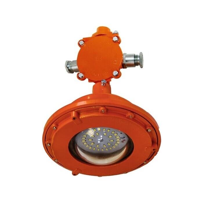 Светильник TDM ELECTRIC взрывозащищенный ДСП 57 МД-30-101 УХЛ 1 (проходной, 2 ввода, рым-болт) 1ExdIIBT6Gb