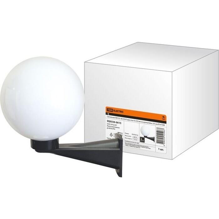Светильник TDM ELECTRIC НБУ 03- 60-250-К шар опал d-250 мм на кронштейне 235 IP54