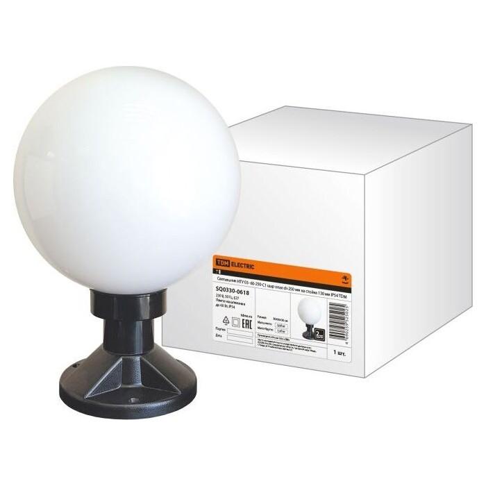 Светильник TDM ELECTRIC НТУ 03- 60-250-С 1 шар опал d-250 мм на стойке 130 IP54