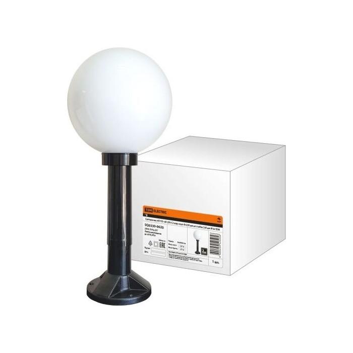 Светильник TDM ELECTRIC НТУ 03- 60-250-С 2 шар опал d-250 мм на стойке 330 IP54