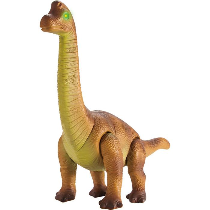 Фото - Радиоуправляемый динозавр CS Toys Брахиозавр (44 см, свет, звук) - 9984 радиоуправляемый динозавр cs toys тираннозавр rs6124a