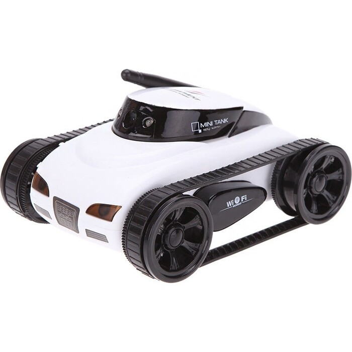 Робот мини танк-шпион Happy Cow I-Spy с камерой WiFi - 777-270 White робот мини танк шпион happy cow i spy с камерой wifi 777 270 gray
