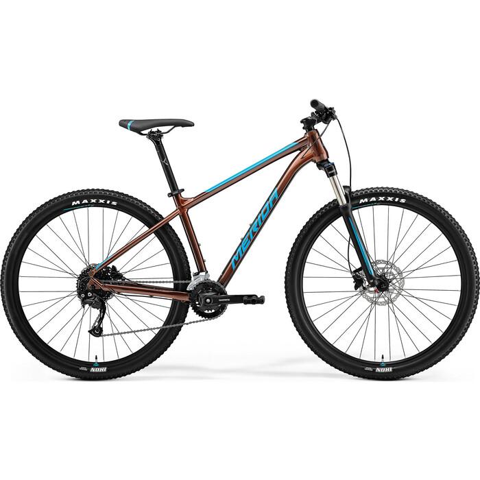 Фото - Велосипед Merida Big.Nine (2021) 100-3x P-XXL(22) Bronze/Blue (6110881333) велосипед merida ride cf team 2014