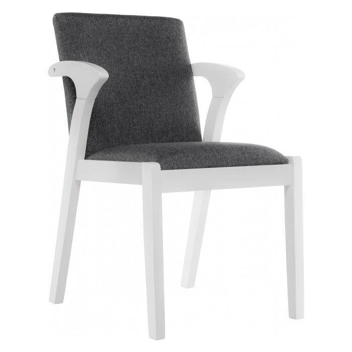 Деревянный стул Woodville Artis white/grey