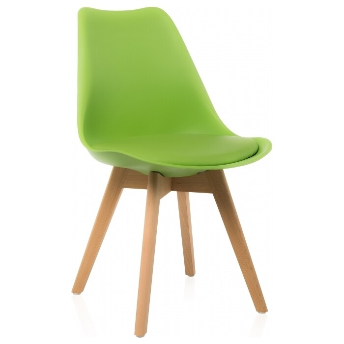 Деревянный стул Woodville Bonus green