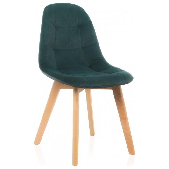 Деревянный стул Woodville Filip green