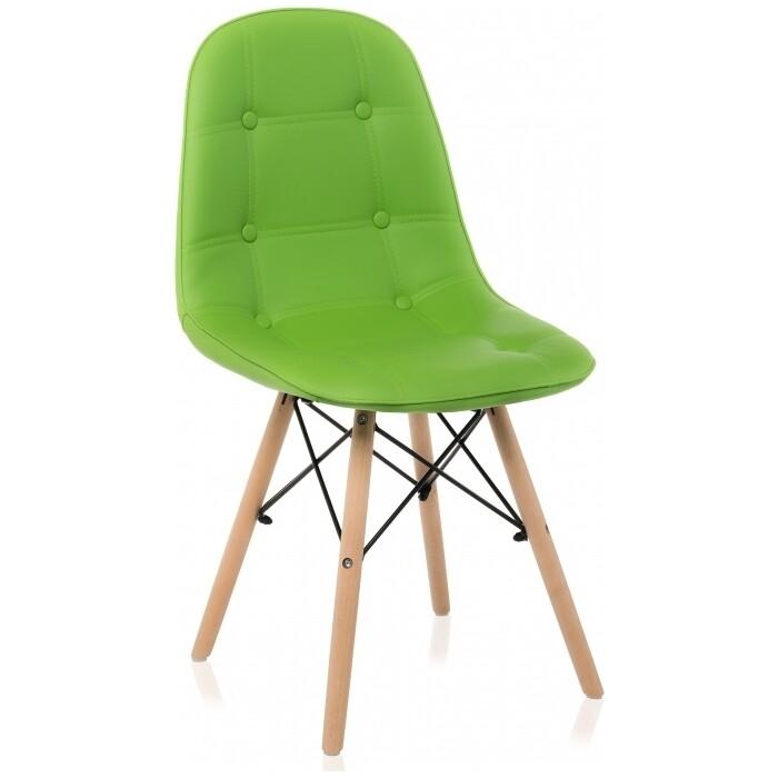 Деревянный стул Woodville Kvadro green