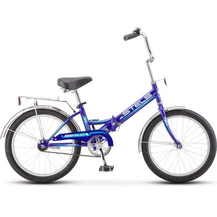 Велосипед Stels Pilot-310 20 Z011 13 Фиолетовый