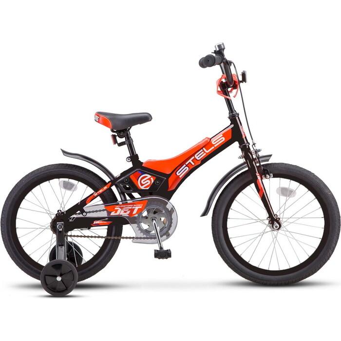 Велосипед Stels Jet 18 Z010 10 Чёрный/оранжевый