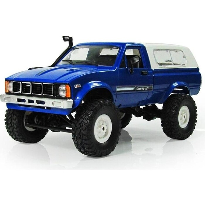 Радиоуправляемая машина WPL Military Truck Buggy Crawler KIT 4WD 2.4G масштаб 1:16 - WPLC-24K-Blue