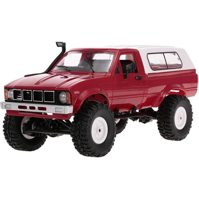 Радиоуправляемая машина WPL Military Truck Buggy Crawler KIT 4WD 2.4G масштаб 1:16 - WPLC-24K-Red