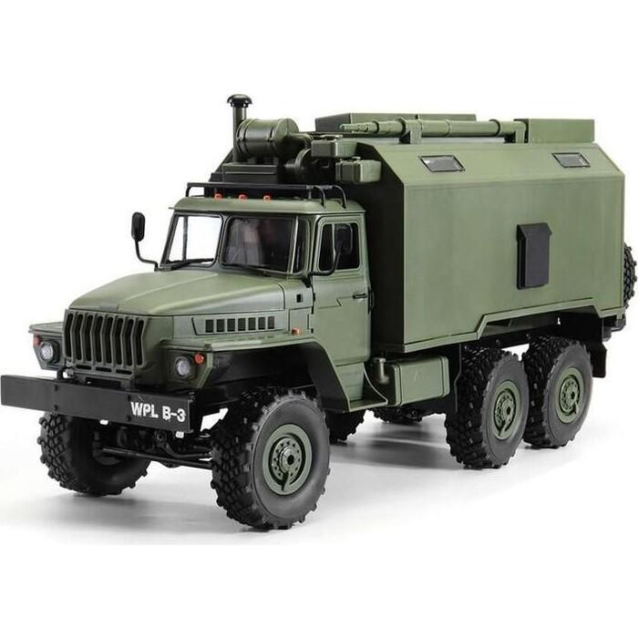 Радиоуправляемая машина WPL Советский военный грузовик Урал KIT 6WD 2.4G масштаб 1:16 - WPLB-36K