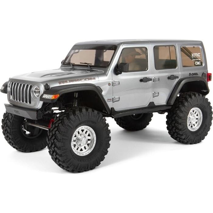Радиоуправляемый внедорожник Axial SCX10 III Jeep JLU Wrangler with Portals 4WD Kit RTR масштаб 1:10 - AXI03007