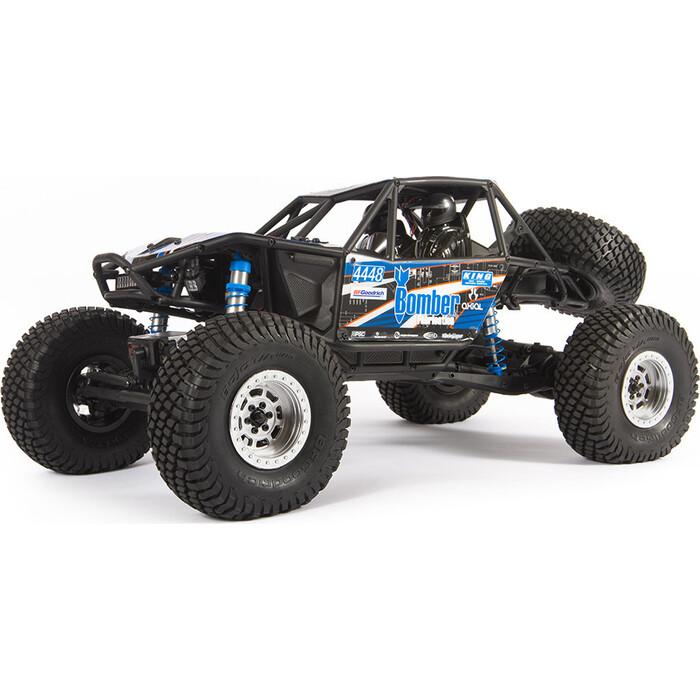 Радиоуправляемый краулер Axial RR10 Bomber Rock Racer RTR масштаб 1:10 2.4G (синий) - AXI03016T1
