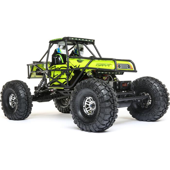 Радиоуправляемый краулер Losi Night Crawler SE 4WD Rock Brushed RTR масштаб 1:10 2.4G (зелёный) - LOS03015T2