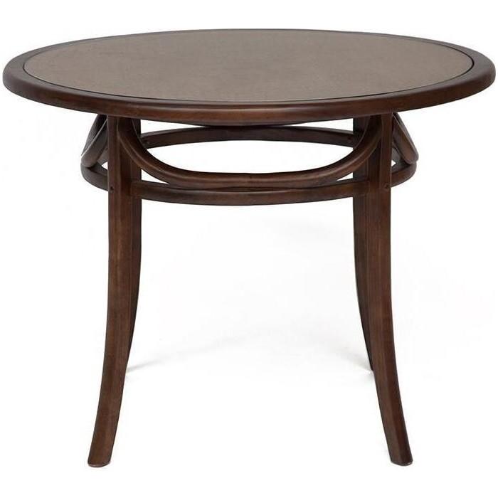 Стол TetChair Secret De Maison thonet (mod.T9032-100) дерево береза/стекло темный орех