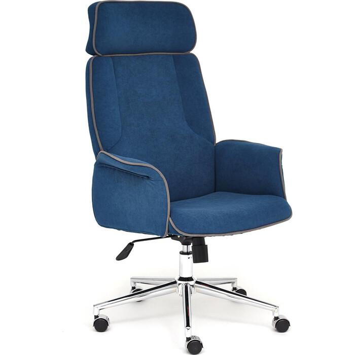 Кресло TetChair Charm флок синий 32