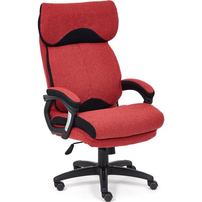 Кресло TetChair Duke ткань красный/черный MJ190-11/TW-11