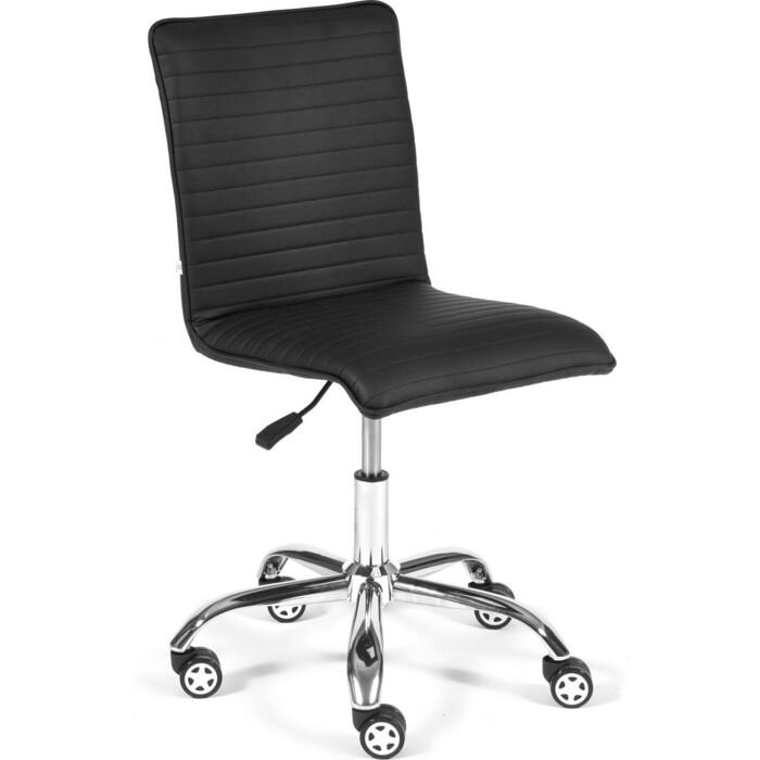 Кресло TetChair Zero be кож/зам перфорированный стеганный черный 36-6/06 кресло tetchair boss люкс хром кож зам зеленый зеленый перфорированный 36 001 36 001 06