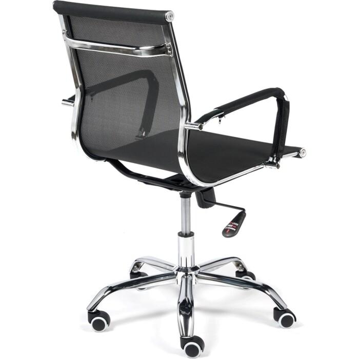 Кресло TetChair Urban-Low M ткань/сетка черный