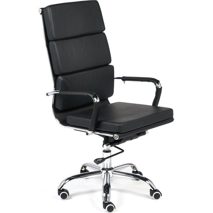 Кресло TetChair Besto кожзам черный